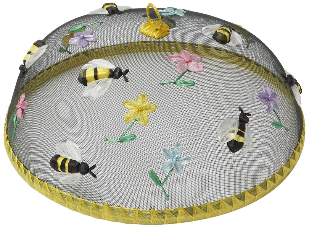 Woodard & Charles Round Bees Food Domes, 14-Inch