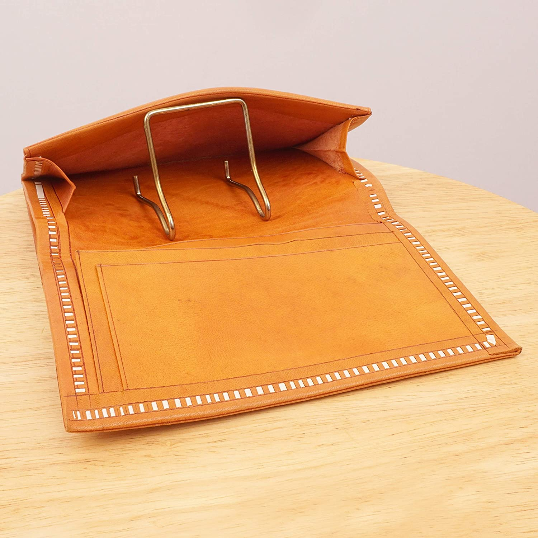 | Restored by UKARETRO Brown//Ginger Genuine Leather Wallet Floral Ornaments//Patterns