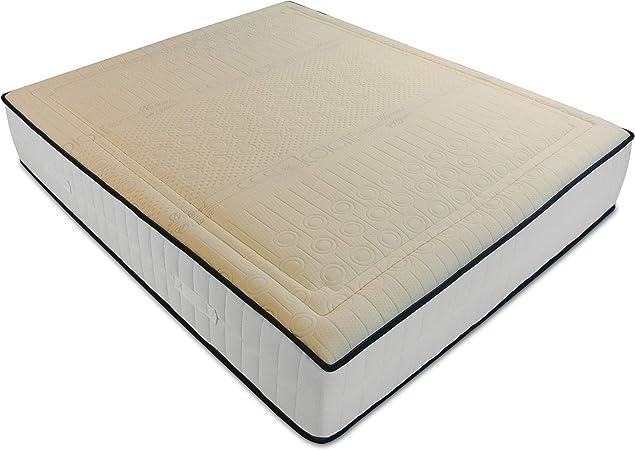 Materassi Matrimoniali In Lattice Memory.Baldiflex Materasso Matrimoniale 160x190 Cm Memory Cotton Ad Alta