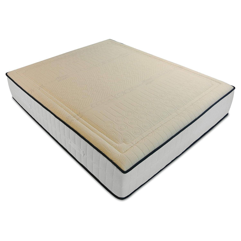 Baldiflex Materasso Singolo 90×180 cm Memory Cotton ad Alta Presa di Forma in Lattice e Memory Traspirante, Anallergico, Tessuto Antibatterico in Cotone. Altezza 18 cm. Prezzi offerte