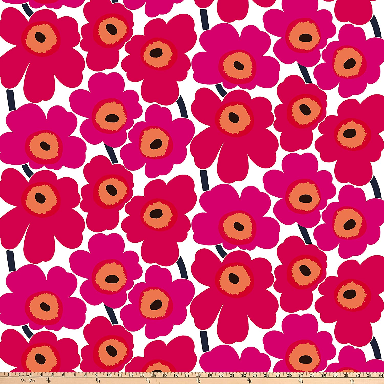 Marimekko Pieni Unikko Cotton Pink 401 Broadway