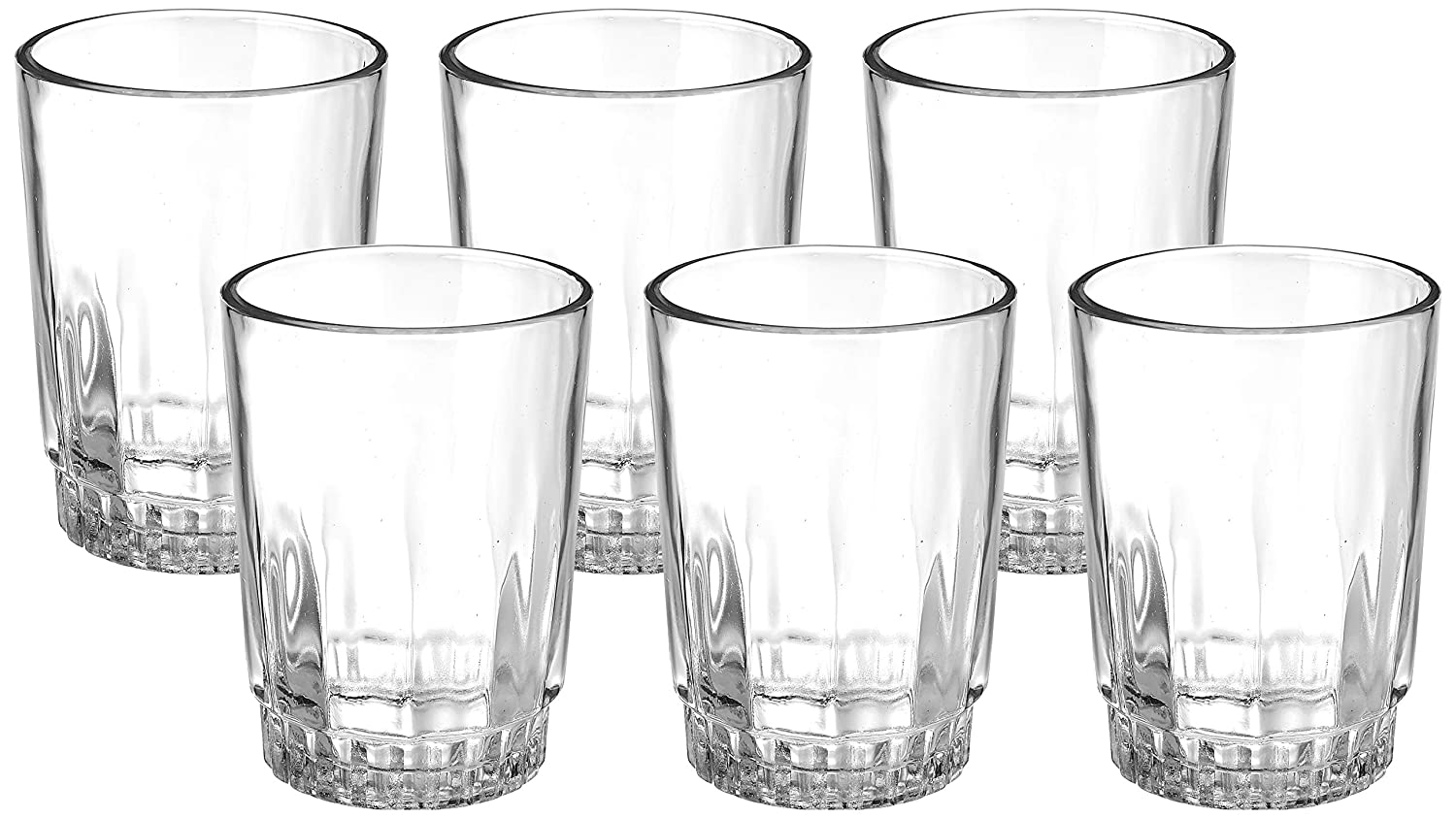 Amazon Brand – Solimo Juice/Water Glass Set for ₹375