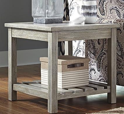 veldar whitewash color square end table - White Wash End Tables