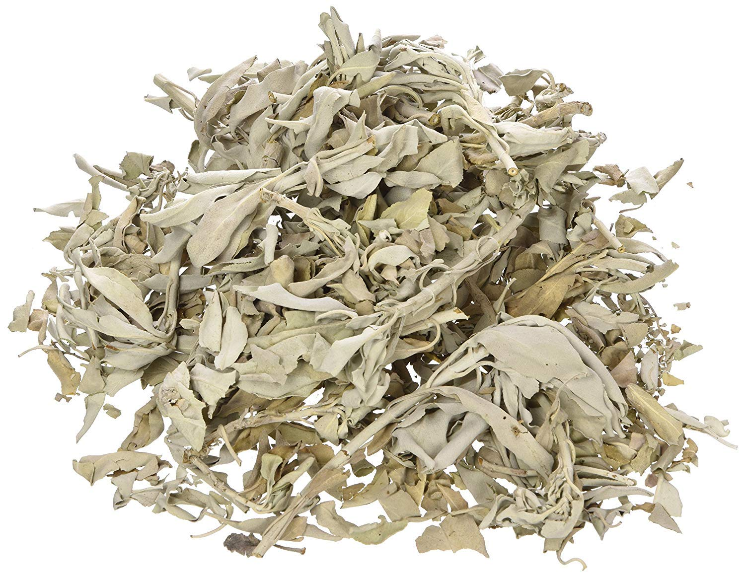 Incense Garden California White Sage Loose Leaves, Salvia Apiana Clusters, Dry Smudging & Burning Sage, 1 Lb Bag by Incense Garden (Image #1)