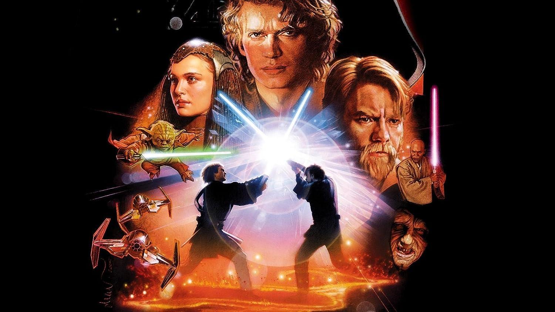 Posterhub Wall Poster Movies Star Wars Star Wars Episode Iii The Revenge Of The Sith Anakin Skywalker Padme Amidala Obi Wan Kenobi Akamovies1379 Amazon In Home Kitchen
