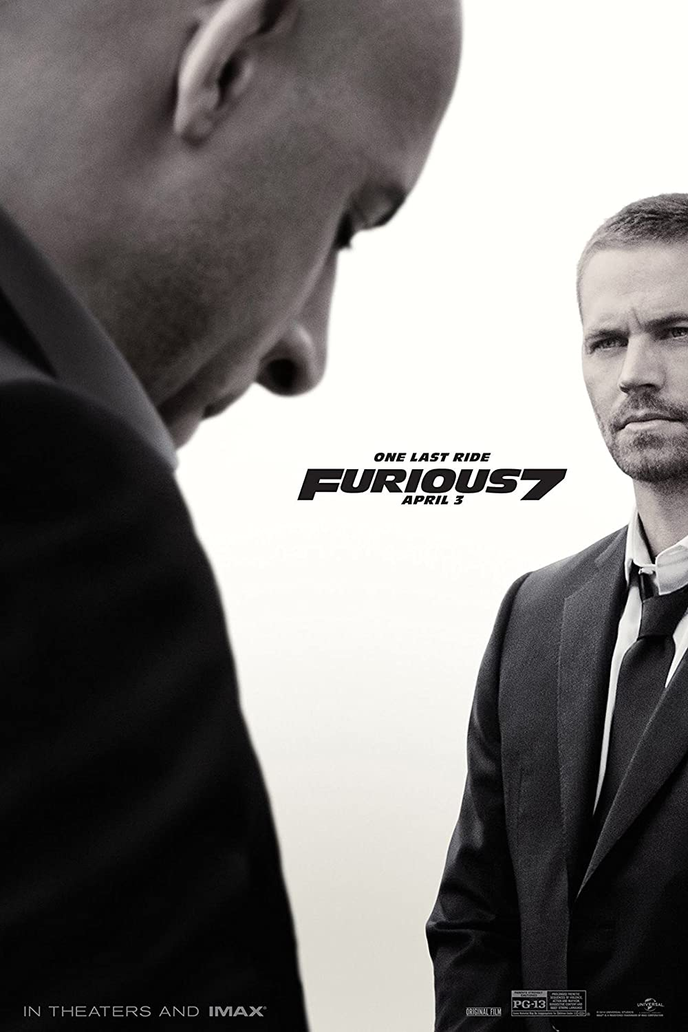 """Amazon.com: Fast and Furious 7 Movie Poster (24 x 36"""") (Thick ..."""
