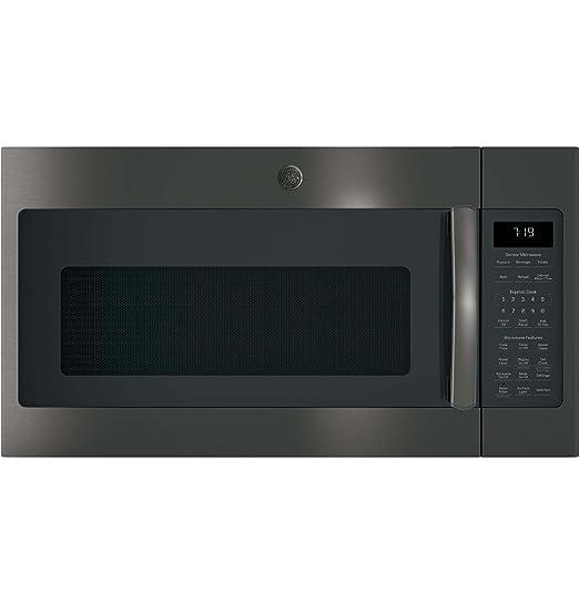 Amazon.com: GE jnm7196blts más de la gama horno de ...