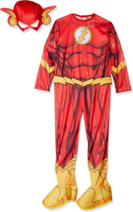 Rubies Halloween Costumes 2020 Tmn Amazon.com: Rubies DC Comics Deluxe Muscle Chest The Flash Costume