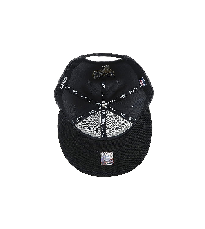super popular c8236 c9682 Amazon.com   New Era 9Fifty Cap NFL Los Angeles Rams Snapback Hat - Charcoal  Black   Clothing