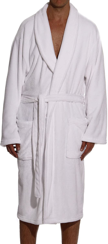 #Followme Velour Robe Robes für Men