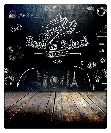 amazon com back school theme photography background for kids