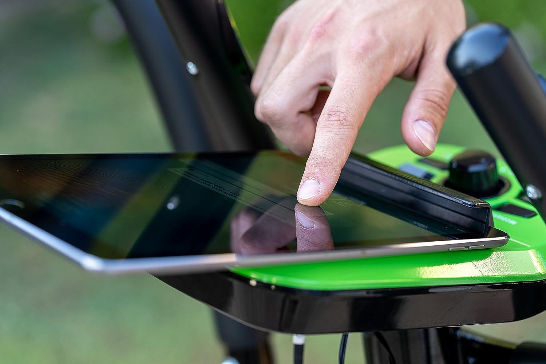 ECO-DE Bicicleta Elíptica Top Magnet Bike con regulación de Intensidad, Control Cardiovascular, Panel de Control: Amazon.es: Deportes y aire libre