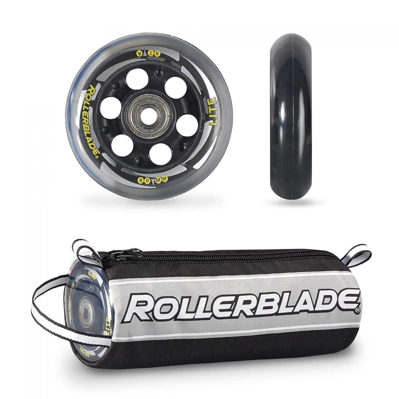 Rollerblade Wheelkit 80mm / 82A + SG7 SG7 Bearings ST & Headband Bundle