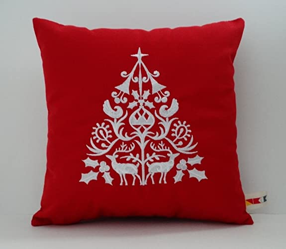 Scandinavian Christmas.Amazon Com Scandinavian Christmas Pillow Cover Sunbrella