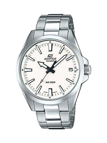 Casio Reloj Analogico para Hombre de Cuarzo con Correa en Acero Inoxidable EFV-100D-7AVUEF: Amazon.es: Relojes