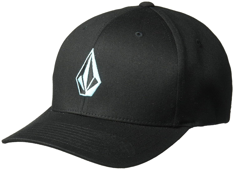 Volcom - Full Stone HTHR Xfit Grau cap-Flexfit Herren, Berretto da Baseball Uomo VOLC8|#Volcom D5511588