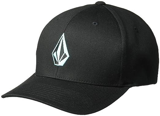 50e756df18146 Volcom Men s Full Stone Heather Flexfit Stretch Twill Hat Baseball Cap