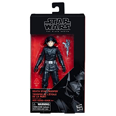 Star Wars The Black Series Death Star Trooper 6-inch Figure: Hasbro: Toys & Games