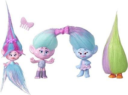 TROLLS 2016 MOVIE DREAMWORKS 8 DOLLS Collection Pack Set