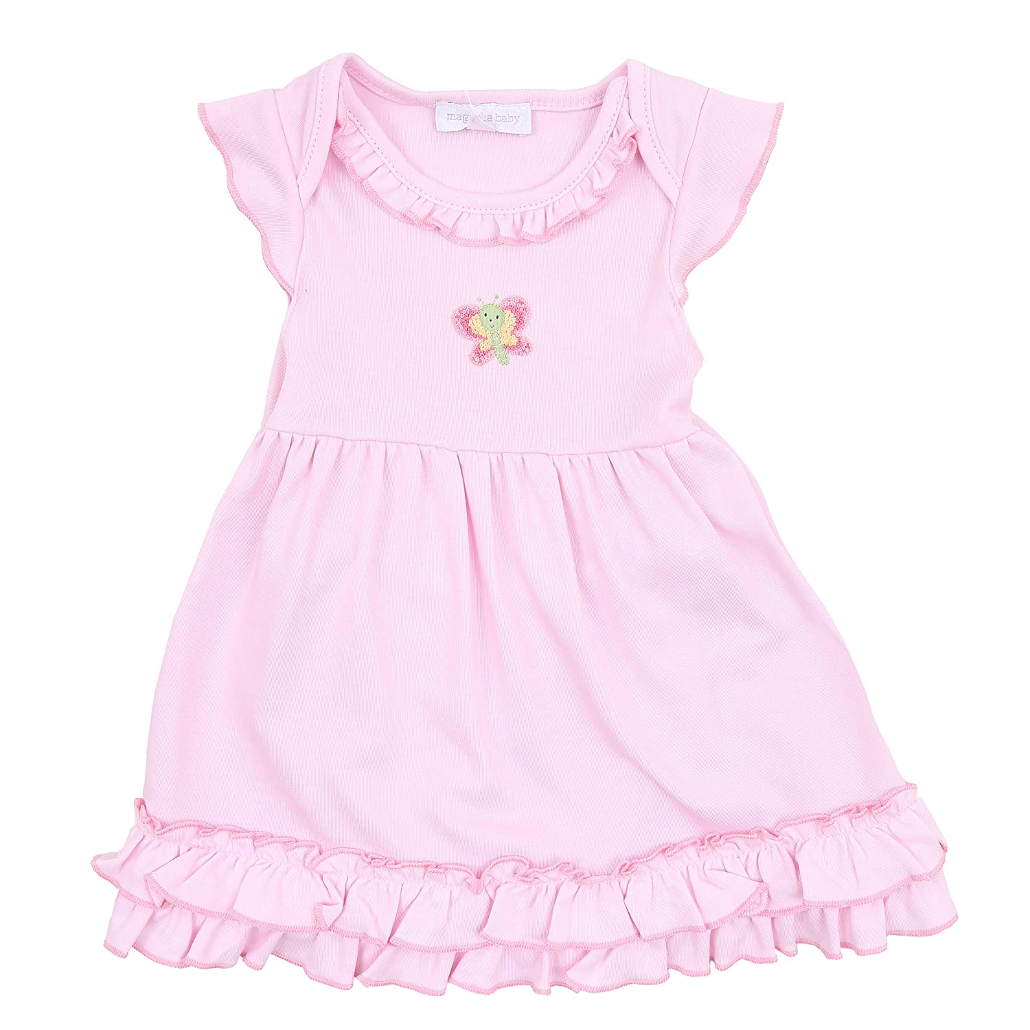 Magnolia Baby Baby Girl Tiny Butterfly Emb Dress Set Pink