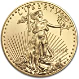 2014 American Eagle 1/10 oz .9999 pure Gold Coin