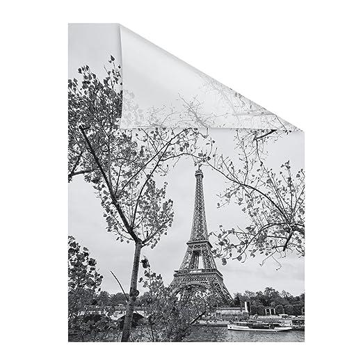 Lichtblick Fensterfolie Selbstklebend Sichtschutz Motiv Paris