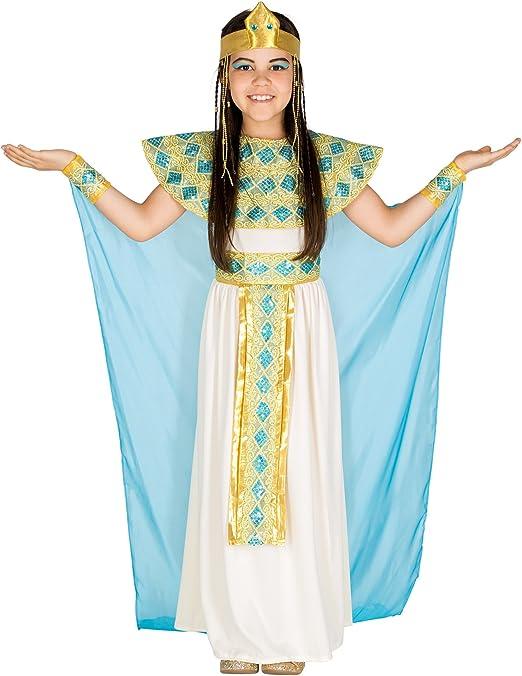 dressforfun 900050 - Disfraz de Niña Cleopatra, Vestido de Jersey ...