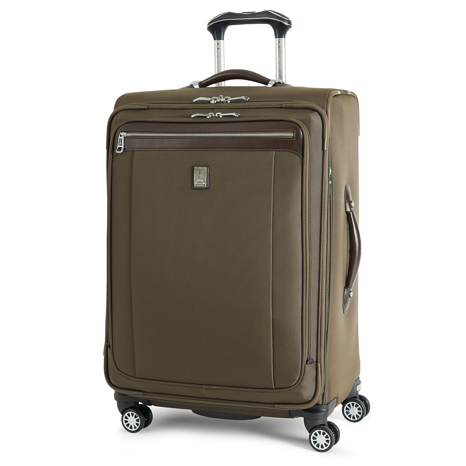 Travelpro PlatinumMagna2 Expandable Spinner Suiter Suitcase, 25-in., Olive