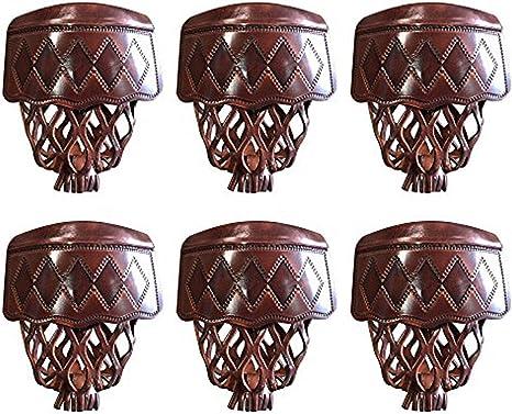 T&R sports Billar mesa de billar bolsillos de piel sintética Set ...