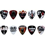 Green Day Guitar Pick Set (10pcs)