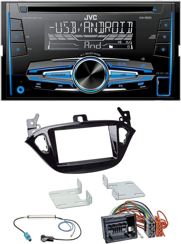 Caraudio24 Jvc Kw R520 Mp3 Usb Cd 2din Aux Autoradio Elektronik