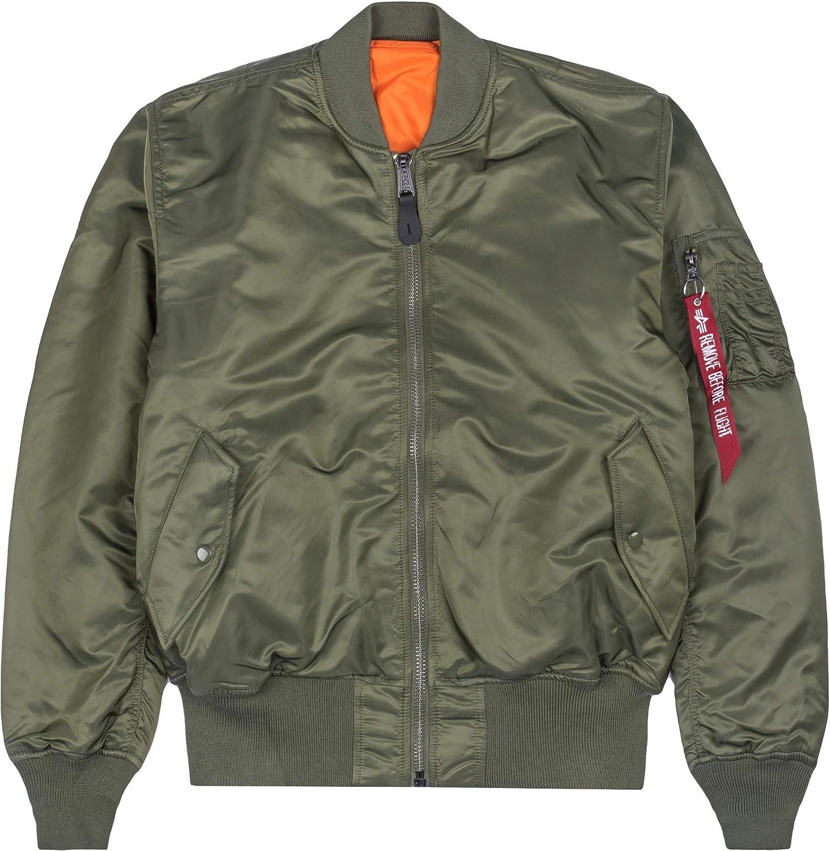 Taglia:146-152 ALPHA INDUSTRIES Kids Bomber Jacket MA-1 TT Colore:Sage-Green
