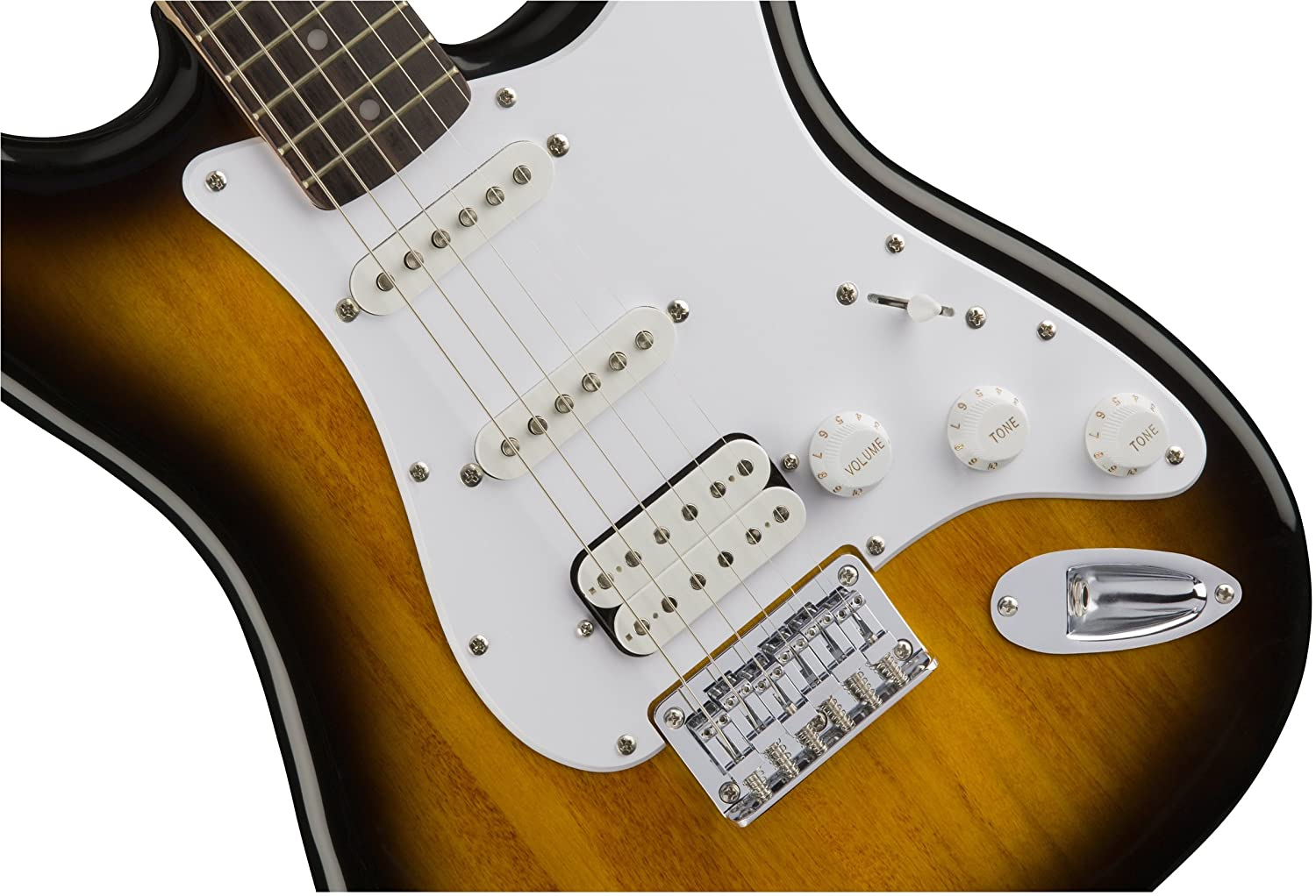 Amazon.com: Fender 0311005532Squier by Bullet Stratocaster Electric ...