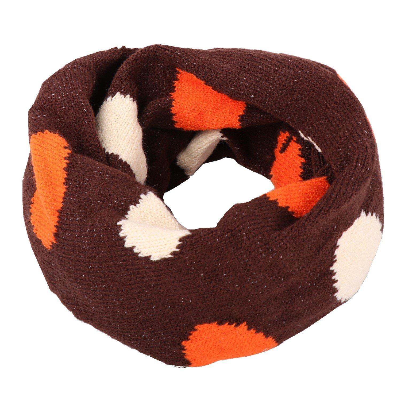 YUANMY Scaldacollo Bambini Cotone Sciarpe Collo Neonato Ragazzi Ragazze Sciarpe Autunno Inverno 1-10 Anni