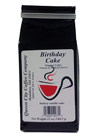Queen City Birthday Cake Coffee 12 Ounce Amazon Grocery
