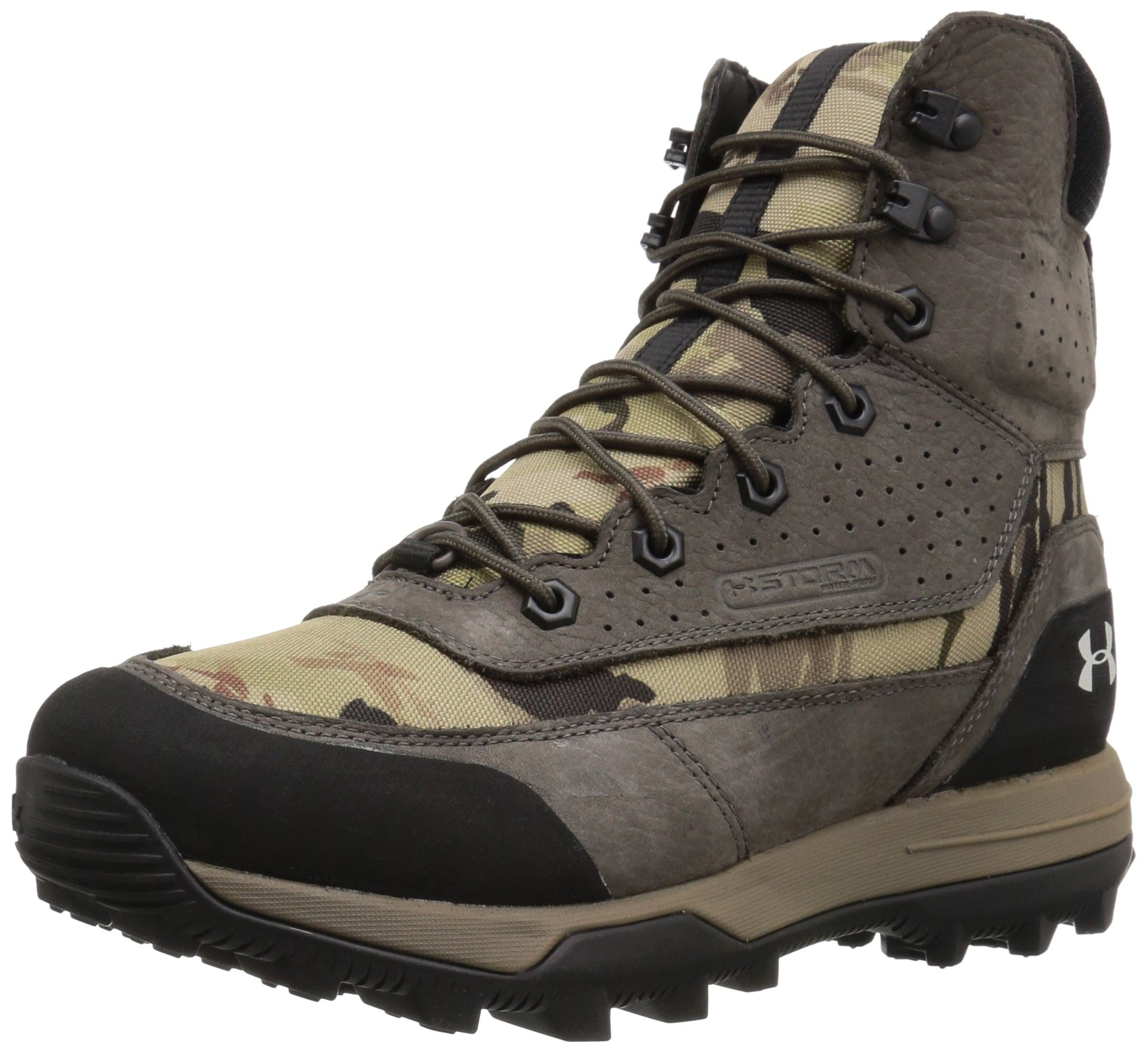 Under Armour Women's Speed Freek Bozeman 2.0-G Ankle Boot, Ridge Reaper Camo Ba (900)/Maverick Brown, 8.5 by Under Armour