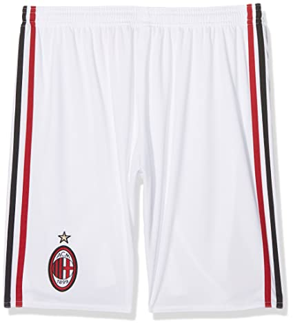 f4bfa8b26e290 Amazon.com : adidas 2017-2018 AC Milan Home Shorts (Kids) : Sports ...
