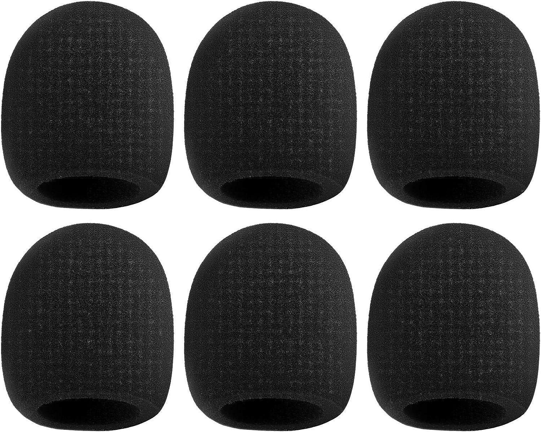 """Foam Mic Microphone 1.5/"""" diam Pop Filter Cover Windscreen Shure SM58 MXL /&Other"""