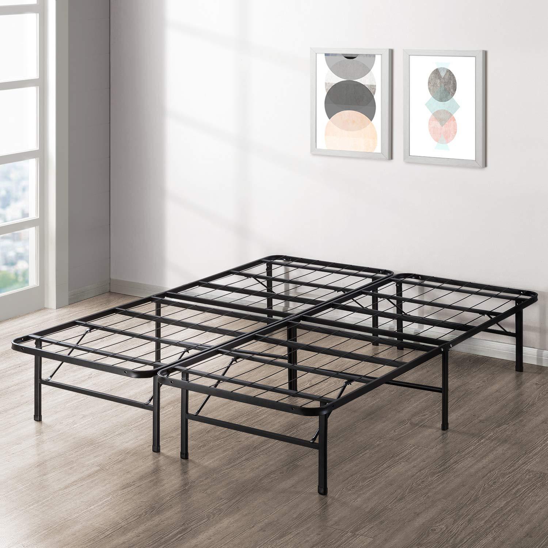 Best Price Mattress New Innovated Box Spring Platform Metal Bed Frame / Foundation, Twin XL