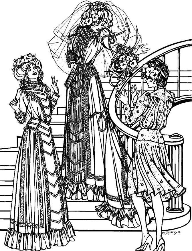 Edwardian Sewing Patterns- Dresses, Skirts, Blouses, Costumes  Edwardian Bridal Gown & Afternoon Dress #227 Sewing Pattern (Pattern Only) Folkwear Vintage Wedding Dress $19.95 AT vintagedancer.com