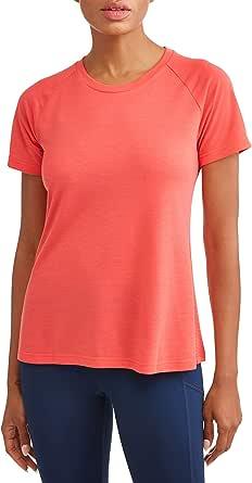 Athletic Works Women/'s Performance Tee Workout T Shirt Black S XL XXL XXXL NWT