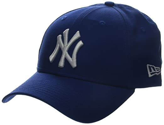 dd304f6f4e39 New Era MLB Basic NY Yankees 9FORTY Adjustable Light Royal Casquette Homme,  Bleu, FR