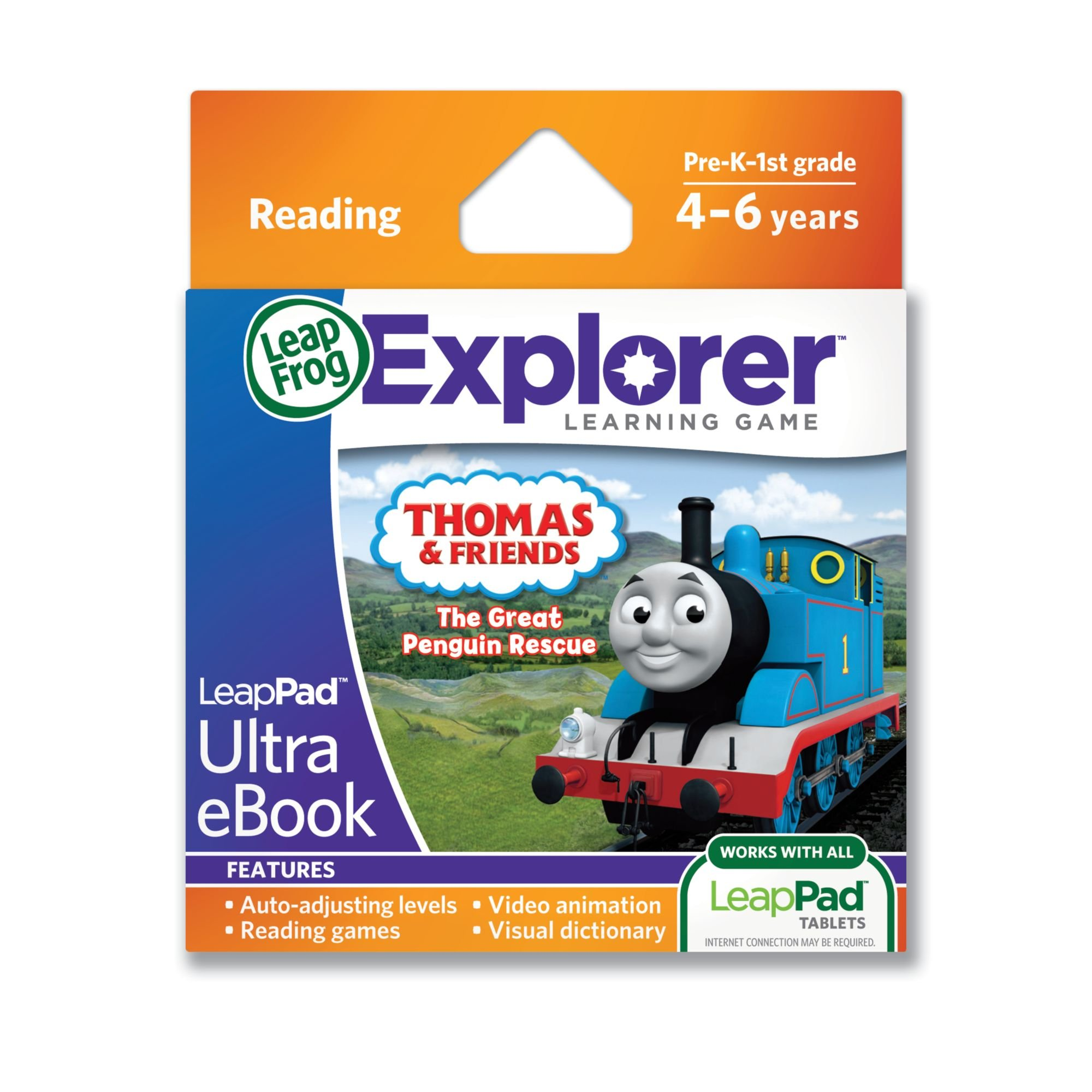 LeapFrog LeapPad Ultra eBook Adventure Builder: Thomas and Friends: The Great Penguin Rescue (works with all LeapPad tablets) by LeapFrog