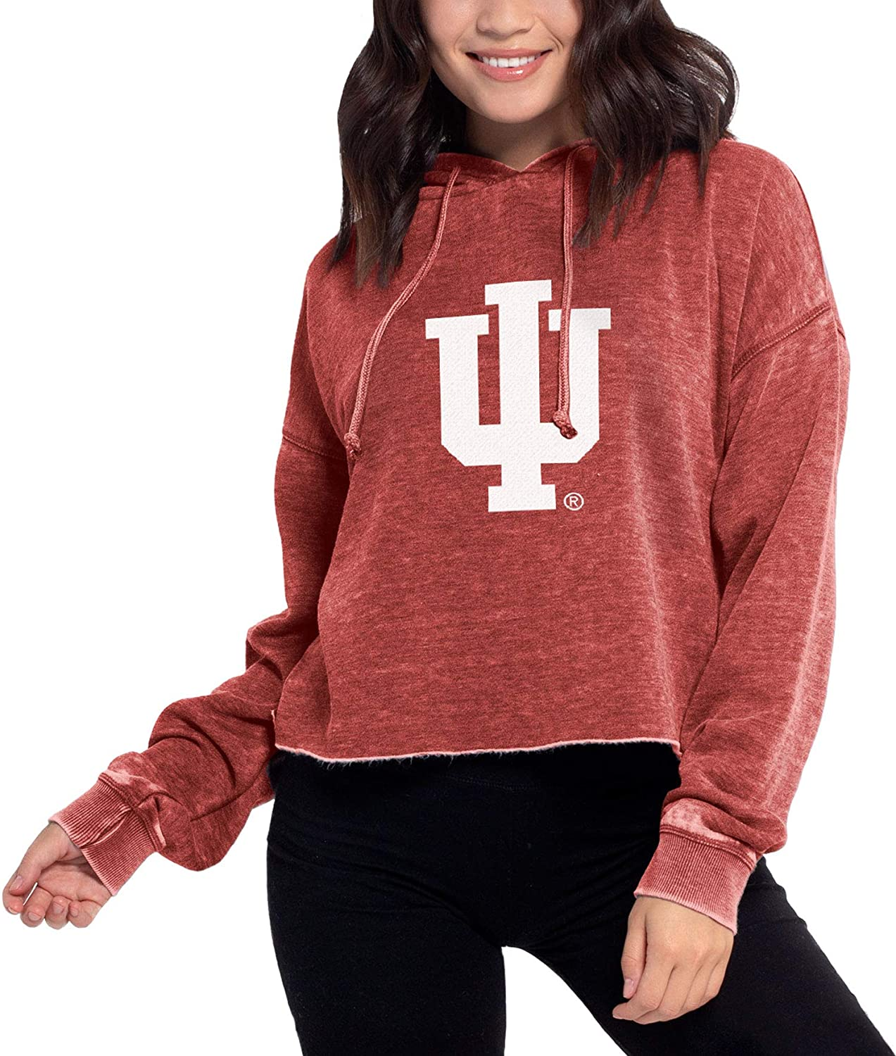 chicka-d NCAA womens Campus Cropped Hoodie