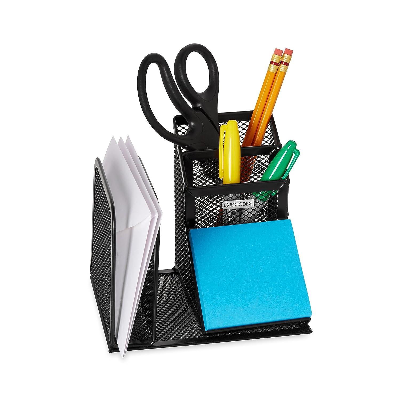 Rolodex Mesh Schreibtisch Organizer schwarz