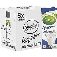 Campina Langlekker Volle Melk 8 x 1.5 L