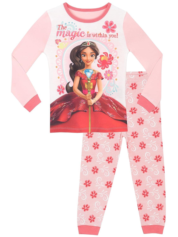 Disney - Pijama para niñas - Elena de Avalor - Ajuste Ceñido: Amazon.es: Ropa y accesorios