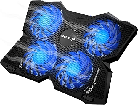 Fosmon 4 Fan Cooling Pad For 13 To 17 Inch Gaming Laptop Ps4 Macbook Pro 1200