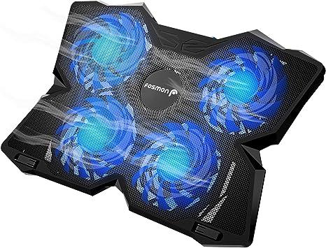 Fosmon Base de refrigeración Gaming para Ordenador Portátil, (1200 ...