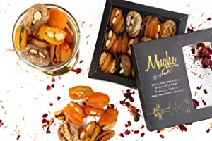 Gourmet Dried Fruit Gift Basket, Holiday Variety Food Tray 350g ℮ 12.5oz, Healthy Snack Box, Great Snacks for Mother's and Father's Day, Christmas, Birthday, Corporate Gifts, Family, Easter - Mughe